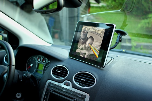 Ipad car navi