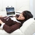 コレはベッドサイドに取り付けたい!! くねくね iPad スタンド OR491PD2