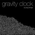 経過した秒数が落ちる!浮かぶ!時計アプリの Gravity Clock がオシャレでオモシロイ
